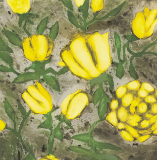 Yellow Roses 1992 Limited Edition Print by Donald Sultan