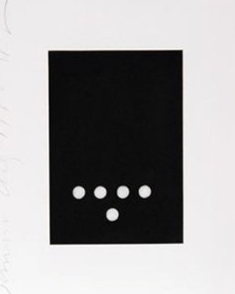 Dominoes, Set of 4 Prints 1990 Limited Edition Print by Donald Sultan