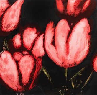 Fruit, Flowers, And Fish: Tulips   1989 Limited Edition Print - Donald Sultan