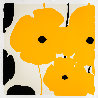 Four Poppies II Suite of 4 2020 Limited Edition Print by Donald Sultan - 4