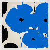 Four Poppies II Suite of 4 2020 Limited Edition Print by Donald Sultan - 1