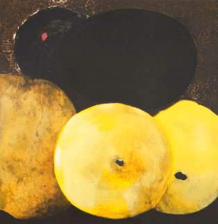 5 Lemons a Pear And an Egg 1994 Limited Edition Print - Donald Sultan
