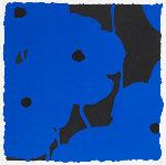 Blues, Sept 20, 2008; Blues, Sept 24, 2008 (Suite of 2) Limited Edition Print - Donald Sultan