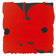 Red Poppies, April 25, 2007 Limited Edition Print by Donald Sultan - 0