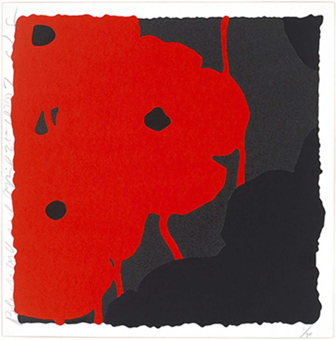Black and Red, April 25, 2007 Limited Edition Print by Donald Sultan