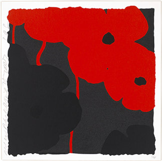 Red and Black, April 25, 2007 Limited Edition Print by Donald Sultan
