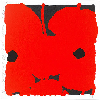 Red Poppies, April 25, 2007 Limited Edition Print by Donald Sultan