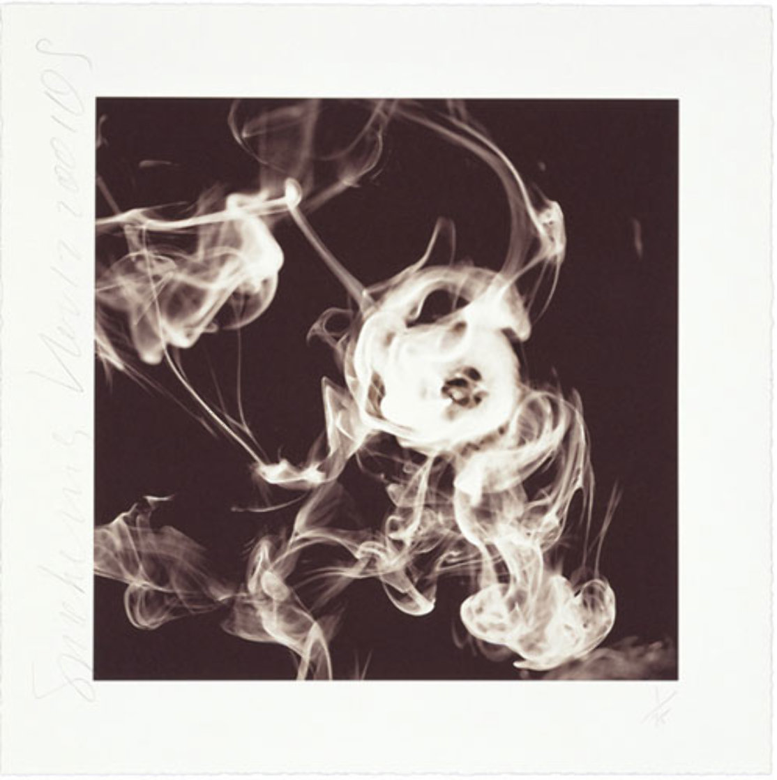 Smoke Rings Suite of 3 2001 Suite of 3 Limited Edition Print by Donald Sultan