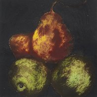 Pears Set of 4 Prints 1989 Limited Edition Print by Donald Sultan - 1