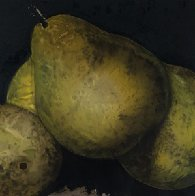 Pears Set of 4 Prints 1989 Limited Edition Print by Donald Sultan - 2
