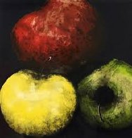 Pears Set of 4 Prints 1989 Limited Edition Print by Donald Sultan - 0