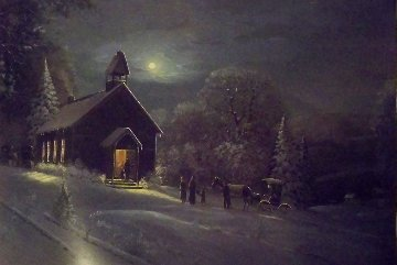 Winter Worship Legacy & Legend Series 1995 Limited Edition Print by Charles Summey