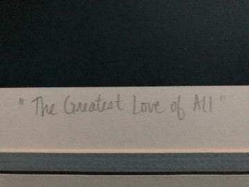 Greatest Love of All AP 1987 Limited Edition Print by George Sumner