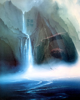 Kauai Falls  Limited Edition Print - George Sumner