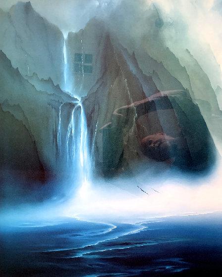 Kauai Falls  Limited Edition Print by George Sumner