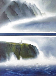 Sanctuary Diptych 1968 Limited Edition Print - George Sumner