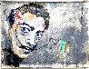 Dali Melting Clock 2020 47x59 Original Painting by Janet Swahn - 1