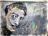 Dali Melting Clock 2020 47x59 Original Painting by Janet Swahn - 2