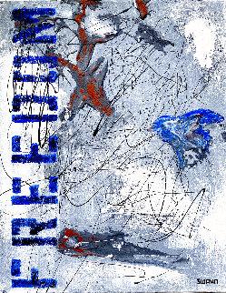 Freedom 2020 20x16 Original Painting - Janet Swahn