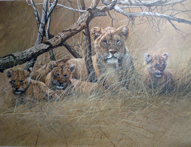 Official World Wildlife Portfolio Of Big Game Art Limited Edition Print by Gary Swanson