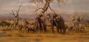 Monarchs of the Kenyan Plains 1987 Limited Edition Print by Gary Swanson