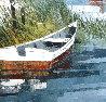 Beach House 1979 24x30 Original Painting by Albert Swayhoover - 8