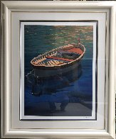 Harbor Rainbow 1999 Huge Limited Edition Print by Tom Swimm - 1