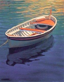 Harbor Rainbow 1999 Huge Limited Edition Print - Tom Swimm