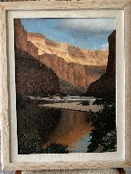 Grand Canyon 1980 23x29 Original Painting by Tom Swimm - 1