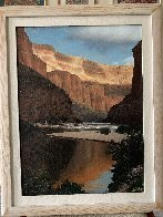 Grand Canyon 1980 23x29 Original Painting by Tom Swimm - 3