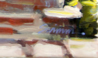 Mission Morning 2012 22x28 Original Painting by Tom Swimm - 1