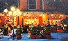 Warm Night in Portofino 2018 30x48 Original Painting by Tom Swimm - 0