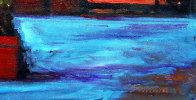 Warm Night in Portofino 2018 30x48 Super Huge Original Painting by Tom Swimm - 1