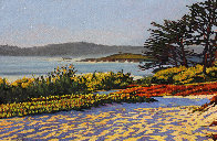 Carmel Memories 2020 33x45 Huge Original Painting by Tom Swimm - 2