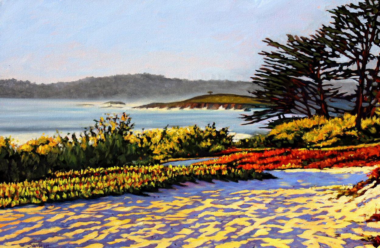 Carmel Memories 2020 33x45 Huge Original Painting by Tom Swimm