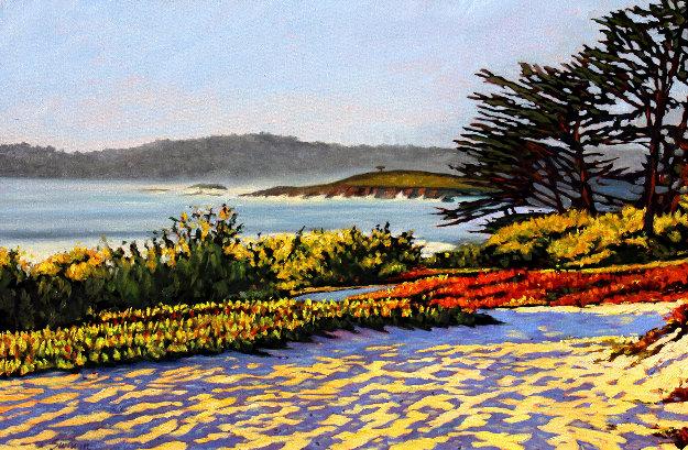 Carmel Memories 2020 33x45 Original Painting by Tom Swimm