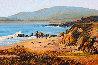 Moonstone Beach 2018 24x36 Original Painting by Tom Swimm - 1