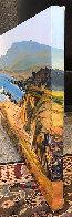 Moonstone Beach 2018 24x36 Original Painting by Tom Swimm - 2