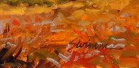 Moonstone Beach 2018 24x36 Original Painting by Tom Swimm - 3