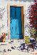 Blue Door, Blue Chair 2011 36x24 Original Painting by Tom Swimm - 0