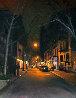 East Side Night 2015 28x22 New York Original Painting by Tom Swimm - 0