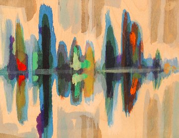 Canoe Lake Series (Set of 5) Original Painting by Kurt Swinghammer