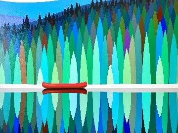 Northern Ark #6 2021 36x48 Original Painting - Kurt Swinghammer
