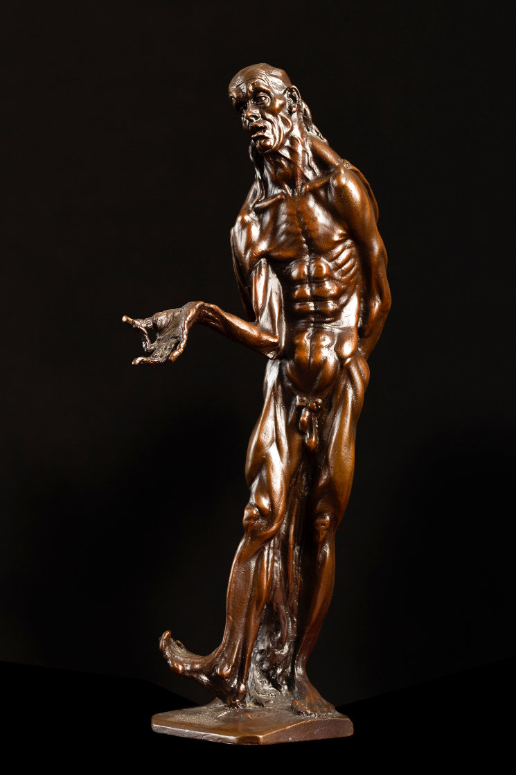 Stuttering Philosopher Bronze Sculpture 1915 12 in Sculpture by Stanislav Szukalski