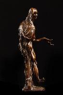 Stuttering Philosopher Bronze Sculpture 1915 12 in Sculpture by Stanislav Szukalski - 2