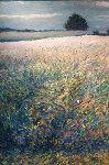 View From Studio 2003 42x30 Original Painting - Jeff Tabor