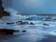 Pensive Hawaii 1992 w Remarque Limited Edition Print by Roy Tabora - 0