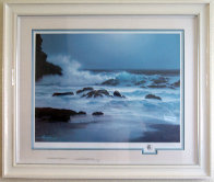 Pensive Hawaii 1992 w Remarque Limited Edition Print by Roy Tabora - 1