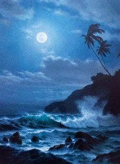 Indigo of the Night 1992 Limited Edition Print by Roy Tabora