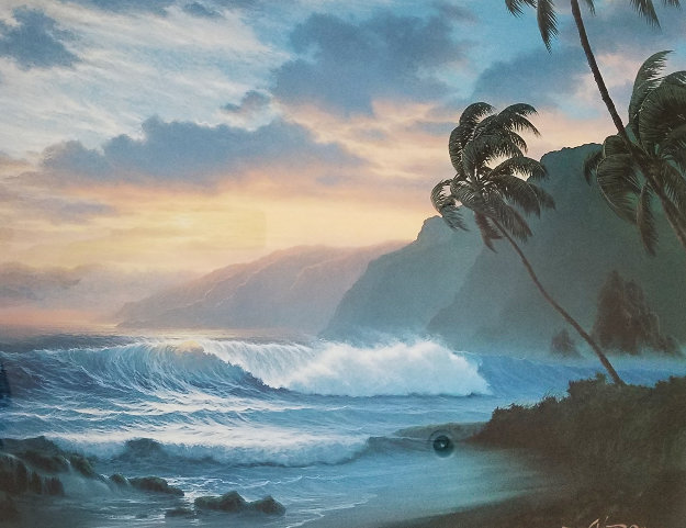 Radiance of the Tropics 1990 Limited Edition Print by Roy Tabora